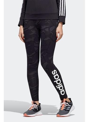 adidas Adidas Kadın Günlük Giyim Tayt W E Aop Tig Ge1140 Siyah